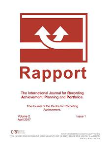 RAPPORT, Volume 2, Issue 1