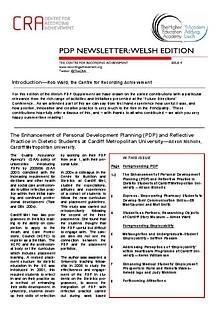 Welsh PDP Newsletter Issue 4
