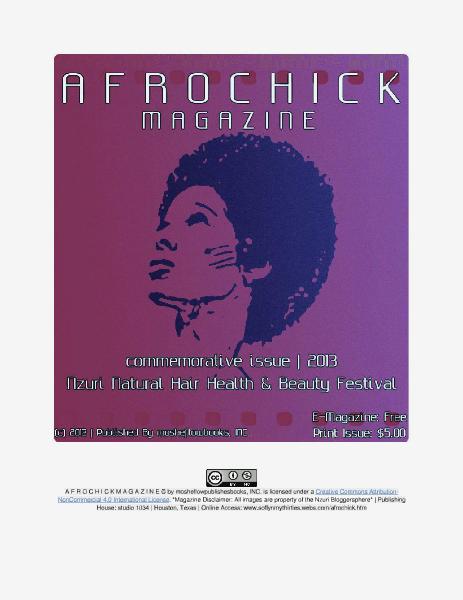 A F R O C H I C K M A G A Z I N E | Vol. 1 (December 2013)