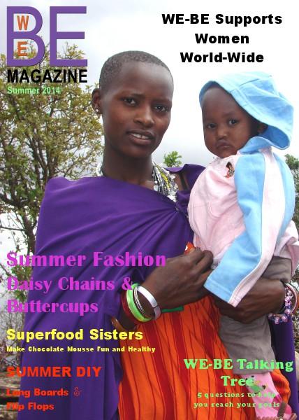 WE-BE Magazine Summer Issue 2014