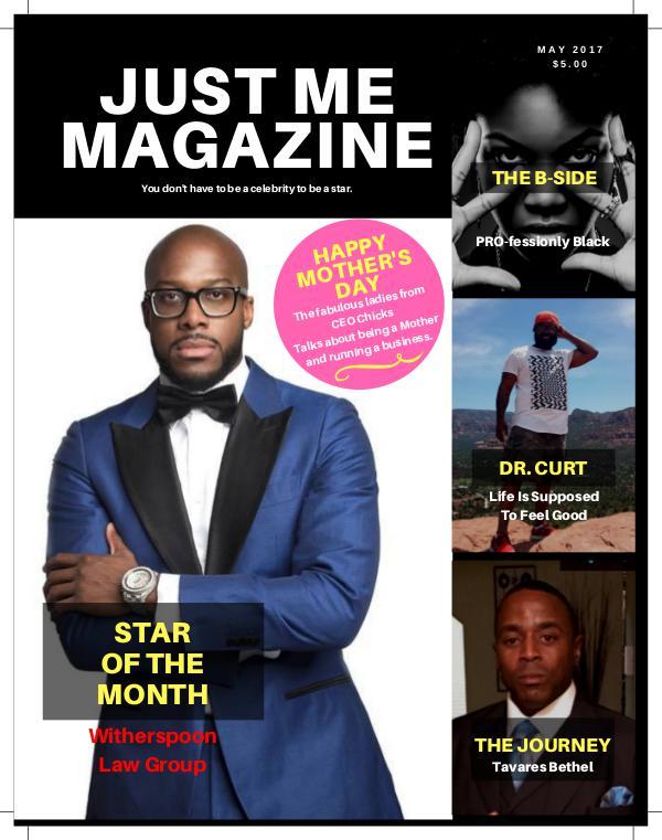 Just Me Magazine - May 2017 Volume 6