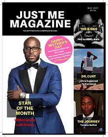 Just Me Magazine - May 2017
