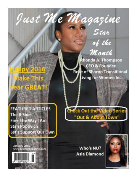 Just Me Magazine Jan