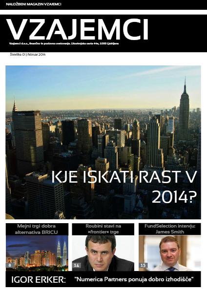 Naložbeni magazin Vzajemci - februar 2014