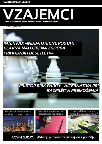 Naložbeni magazin Vzajemci junij 2014