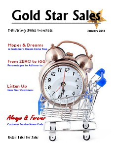 January 2014 Gold Star Sales 1