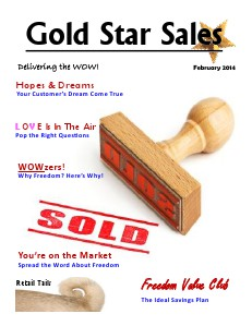 February 2014 Gold Star Sales 2