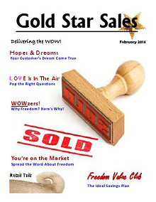 February 2014 Gold Star Sales