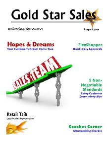 August Gold Star Sales
