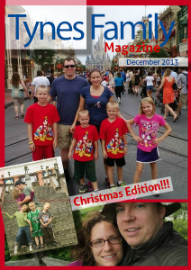 Tynes Family Christmas Newsletter Christmas Edition