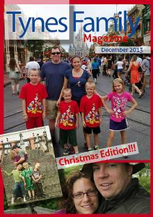 Tynes Family Christmas Newsletter