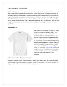T-shirts online kopen, een groot gemak dec 2013