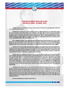 Our School_Banaz,Uşak Usak,Banaz e-magazine