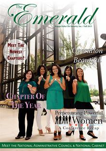 The Emerald Newsletter | Kappa Delta Chi Sorority