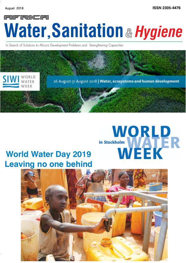 Africa Water & Sanitation & Hygiene August 2018