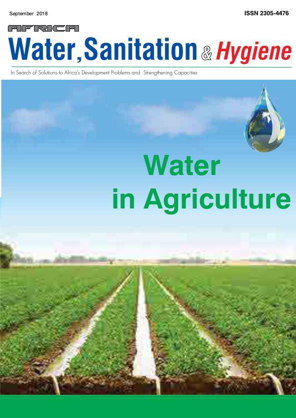 Africa Water, Sanitation & Hygiene September 2018 Vol.13 No.4