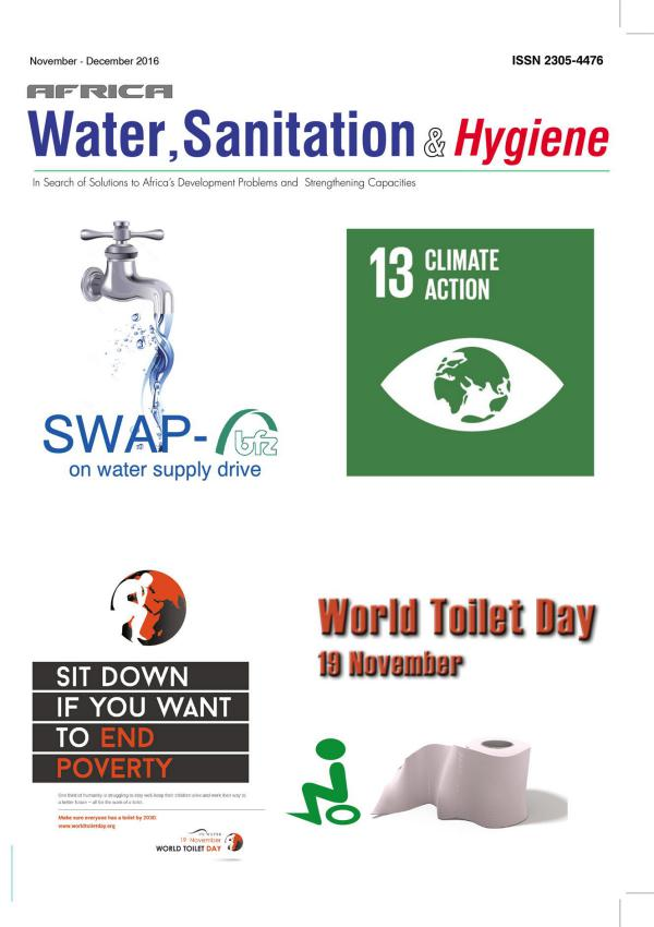 Africa Water, Sanitation & Hygiene November - December 2016 vol.11 No.6