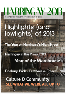 Harringay Online Review of the Year 2013 Dec. 2013
