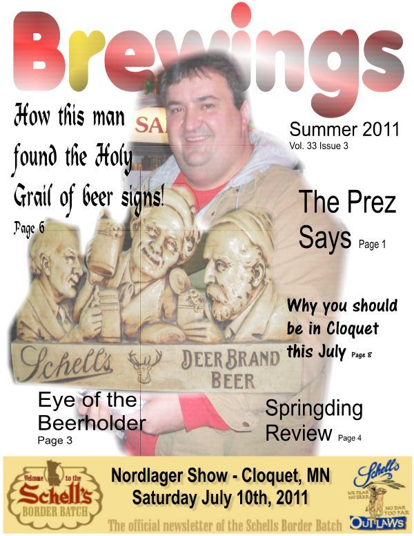 Brewings Brewings Vol 33 Issue 3
