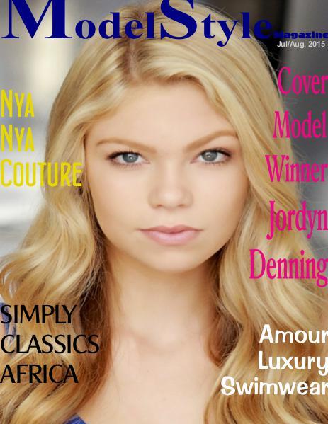 ModelStyle Magazine Jul/Aug 2015