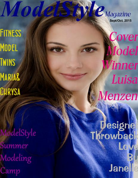 ModelStyle Magazine Sept-Oct. 2015
