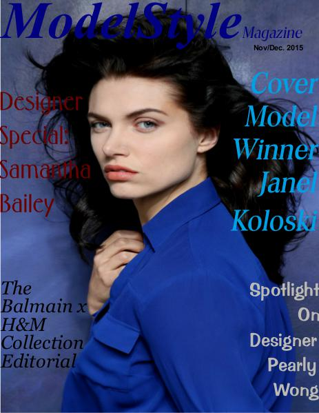ModelStyle Magazine Nov/Dec 2015