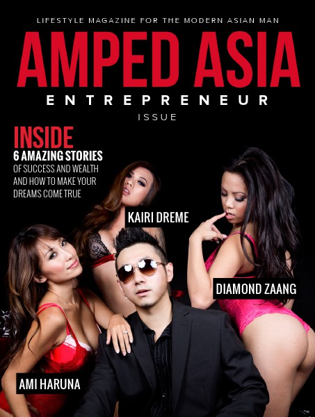 Amped Asia Magazine September 2014: Entrepreneur Issue