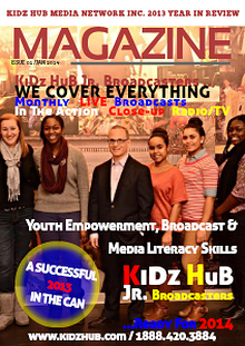 KiDz HuB 2013 Year in Review
