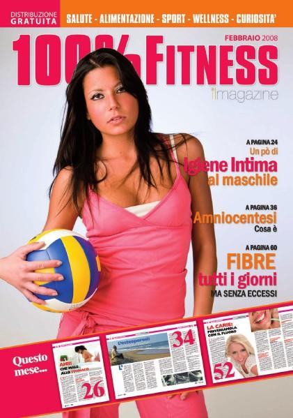 100% Fitness Mag - Anno II Febbraio 2008