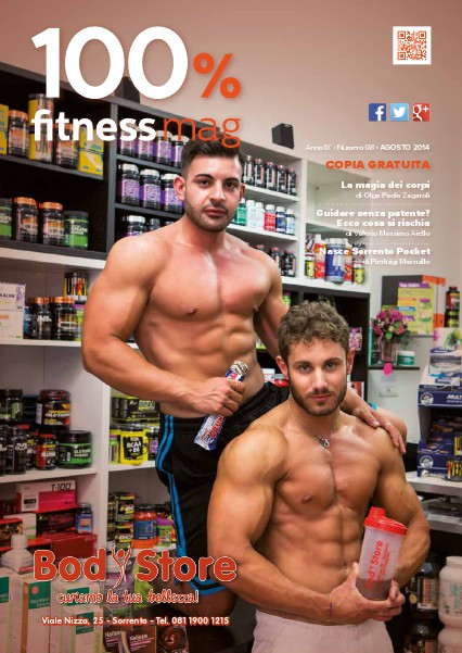 100% Fitness Mag - Anno VIII Agosto 2014