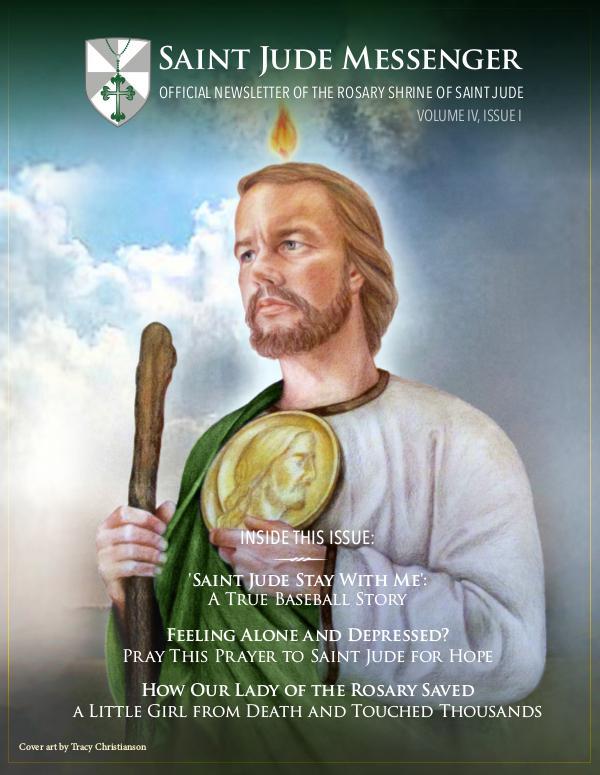 St. Jude Messenger Volume IV, Issue I
