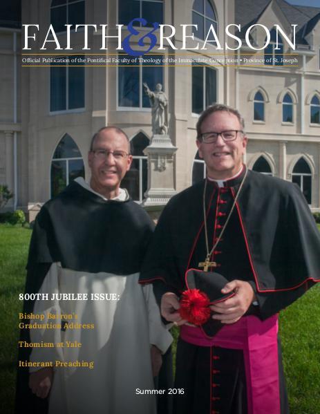 Faith & Reason Volume III, Issue II