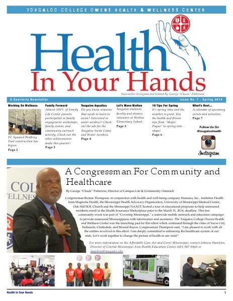 Health In Your Hands Issue #7 Spring 2014