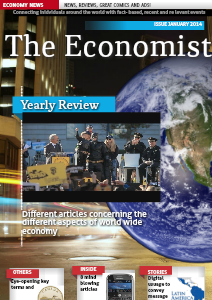 The Universal Journey: Economic World January 13th  2014