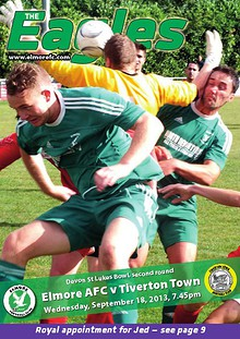Elmore v Tiverton Town (DSL Bowl)