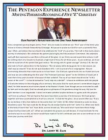 PilgrimBCSM Pentagon Campaign Newsletters