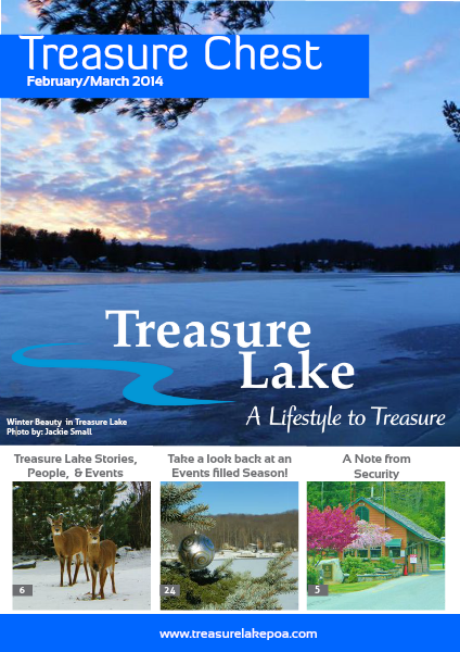 Treasure Chest February/March 2014