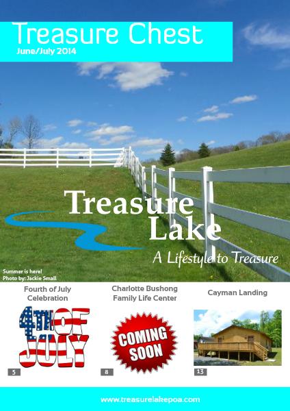 Treasure Chest June/July 2014