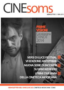 CineSOMS News - Newsletter della Cineteca Modicana Soms